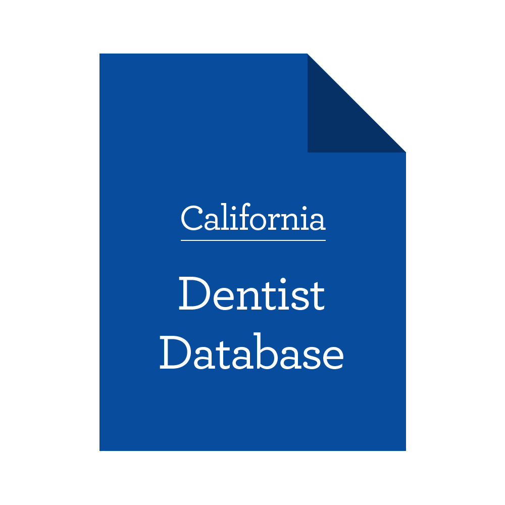 Database of California Dentists
