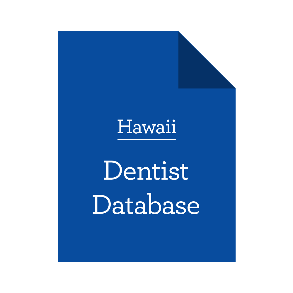 Database of Hawaii Dentists