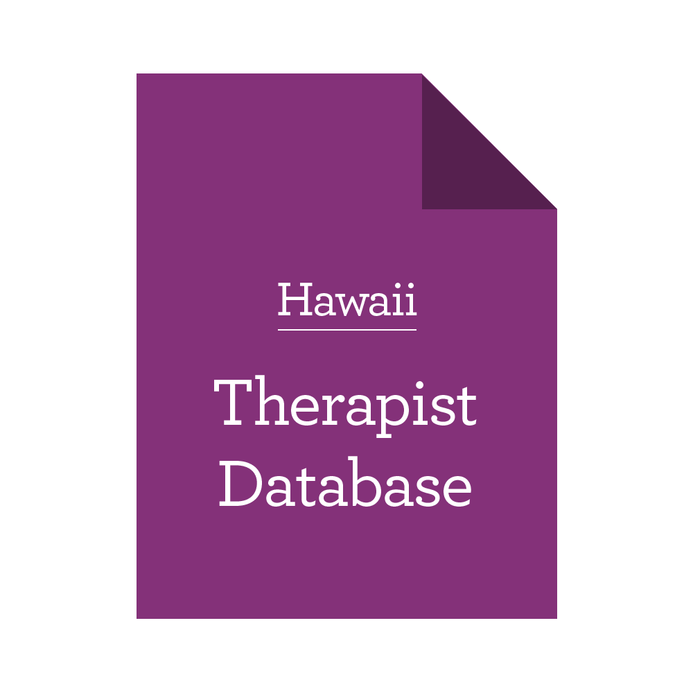Database of Hawaii Therapists