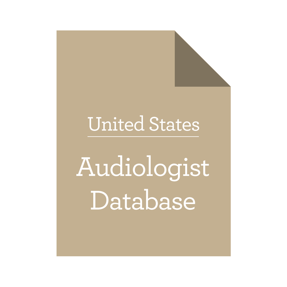 United States Audiologist Database